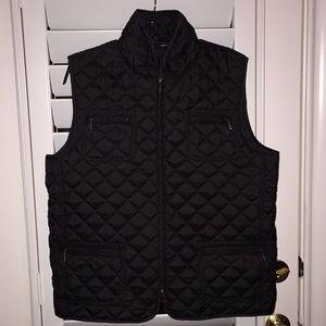 Chico's black puffer vest